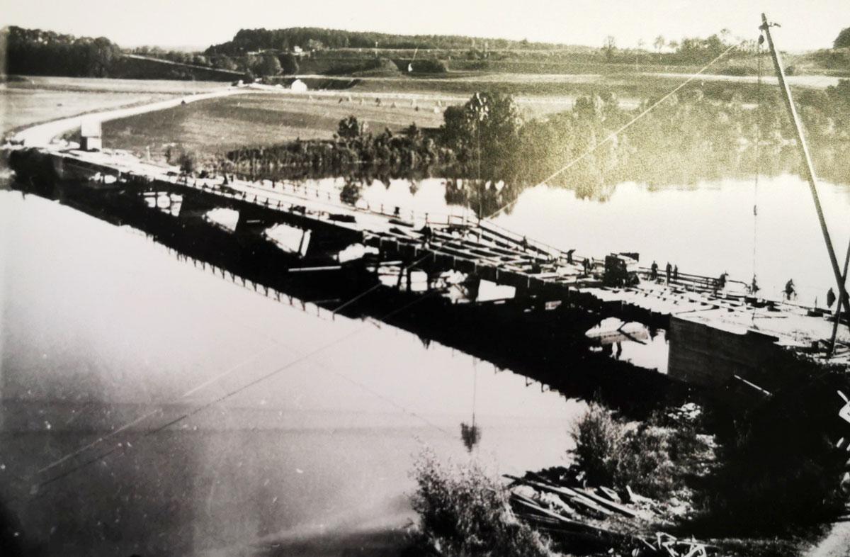 Wiederaufbau der Innbrücke Gars a. Inn